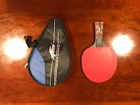 Table Tennis Racket + Waterproof Case Arlington