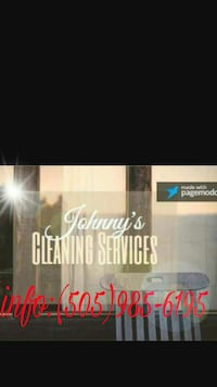 Johnny's cleaning services business advertisement