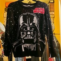Star Wars Darth Vader sound chip sweater  Size med Long Beach, 90810