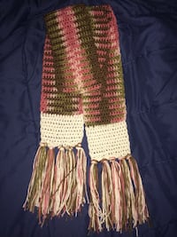 New Pink Cami and white scarf  155 mi