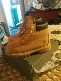 Kids size 8 Timberland boots brand new Hagerstown, 21740