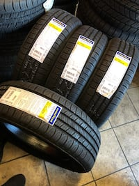 This set is new Goodyear 205/65R16 Whittier, 90605