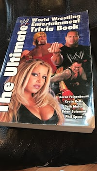 World Wrestling Entertainment Trivia Book, The Ultimate . Orchard Hills, 21742