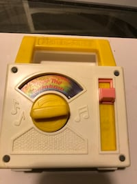 Vintage fisher price music toy