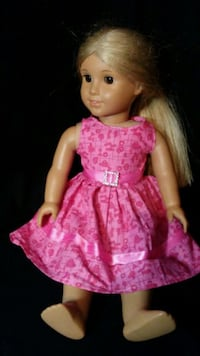 girl doll in pink and white dress Walkersville, 21793