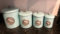 BRAND NEW kitchen canisters