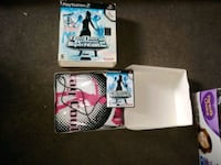 Dance dance revolution 2 game and controller PS2 Summerville