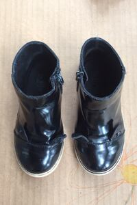 Girl's boots black Cat size 6,5-7,5 Zara shoes