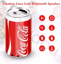 coca cola bluetooth speaker Belleville, K8N 1K8