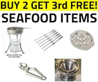 REDUCED + BUY 2 GET 1 FREE - Seafood Items TORONTO