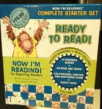 Complete Starter 64-Page ABC book Set box