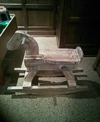 Restoration hardware kids wooden rocking horse Calgary, T2V 2C5