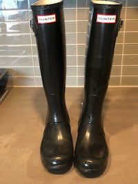 Hunter Rubber Boots size 5