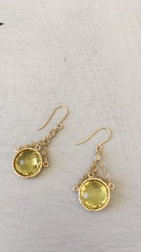 pair of gold-colored hook earrings Ossining, 10510