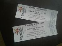 Complimentary   concert tickets.