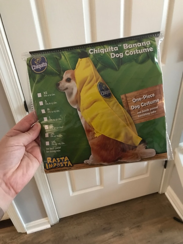 Extra large dog costume, fit our 75 pound lab! Pick up in Ashburn