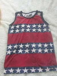 red and black stripe tank top Modesto, 95350