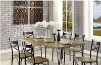 BANBURY 7pc. Dining Room Table Set North Highlands