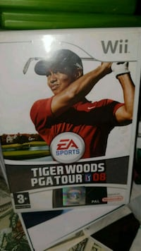 Tiger woods PGA tour 08 Nintendo Wii spill Nittedal, 1481