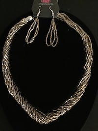 silver chain link necklace with pendant Annapolis, 21409
