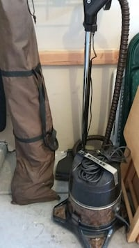 black and gray canister vacuum cleaner Las Vegas, 89145