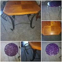 End table and small side table