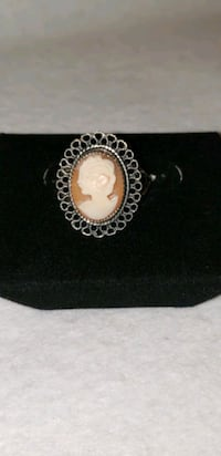 Vintage Sterling Silver Cameo ring Des Moines, 50313