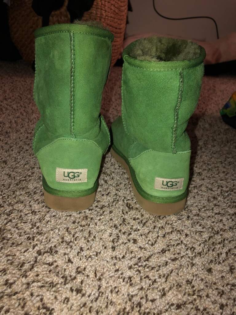 green UGG Classic Short 2's for sale  Charlotte