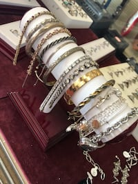 Real sterling silver bracelets $19 each  Anniston, 36201