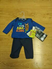 New w tags boys 0-3 mo 3 pc Scooby Doo outfit New Port Richey, 34652