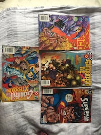 Four assorted marvel comic books all for $5