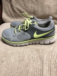 Pair of gray nike running shoes Fairview Heights, 62208