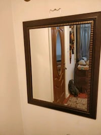 brown wooden framed wall mirror Annandale, 22003