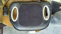 black and gray car seat cover Edmonton, T5J 4Y8
