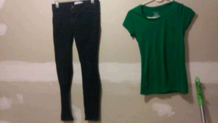 Photo Hollister skinny jeans size 3 low no bo s tshirt