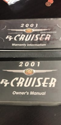 Black owner manual for 2001 pt cruiser West Valley City, 84120