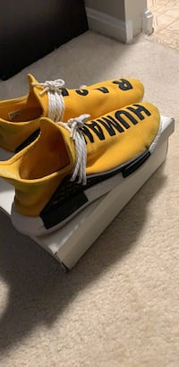 "NMD Human Race ""Yellow"" size 13 Arlington, 22201"