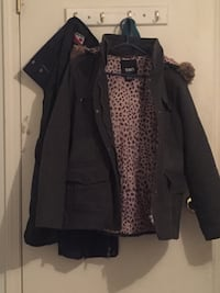 Black and brown sws parka Surrey, V3R