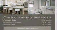 Cleaning services.. Philadelphia