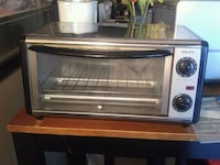 stainless steel and black toaster oven Hamilton, L9B 2J5