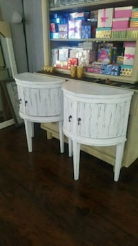 Two tall night stands/ side tables Oklahoma City, 73107