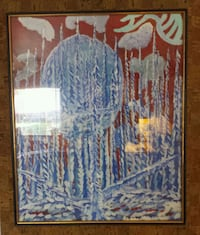 The winter solstice original framed one of a kind  Wright City
