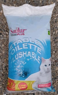 Saular Plus - Flushable Cat Litter