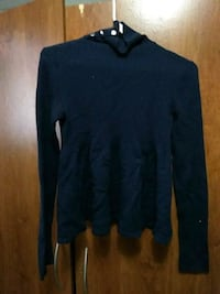 blue turtle-neckline sweater Kamloops, V2B 5C5