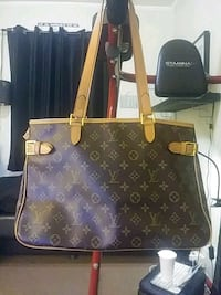 brown Louis Vuitton monogram leather tote bag Yonkers, 10705