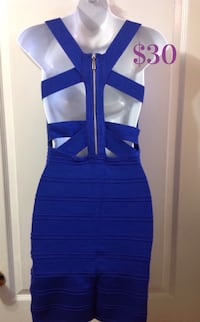 FOREVER 21 Blue Cut-Out Dress: Size Small Toronto, M6G
