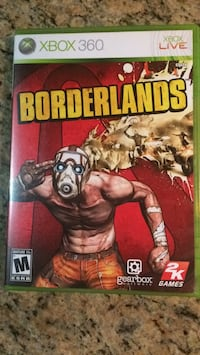 Xbox 360 Borderlands game case Reston, 20191