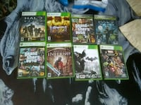 assorted Xbox 360 game cases Castroville, 95012