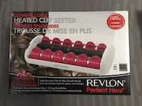 Revlon perfect heat ultimate curls heated clips setter Mississauga, L4Y