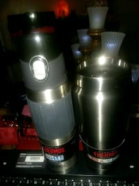 two stainless steel and black thermal carafes Knoxville, 37919